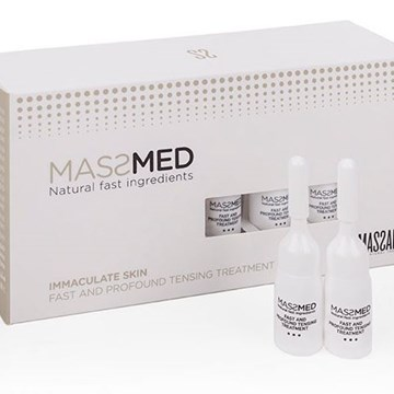 Tratamiento Reafirmante Viales Fast and Profound Tensing Treatment de MassMed Massada - Imagen 1