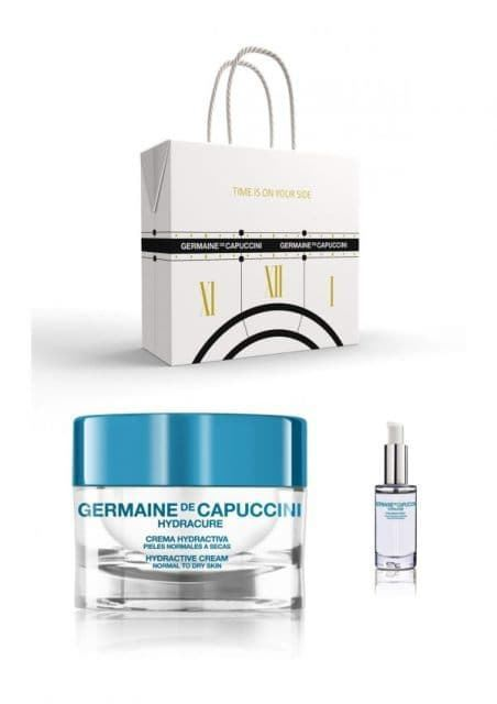 Cofre Crema Rica Hydractiva Piel Normal a Mixta + Serum Hyaluronico Force Germaine de Capuccini - Imagen 1