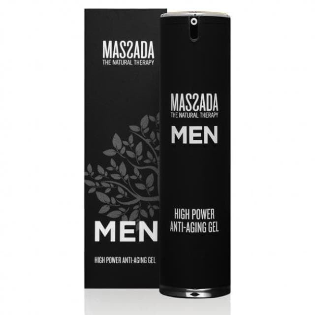 Gel Antiarrugas High Power Anti-Aging Gel Men Massada - Imagen 1