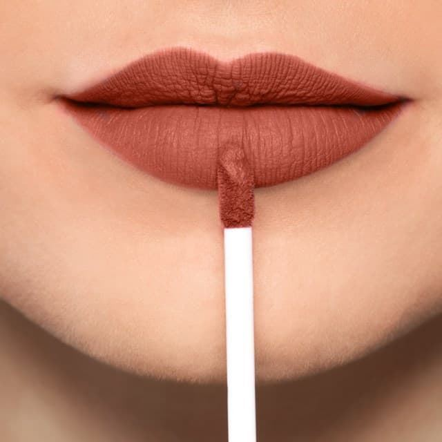 Labial Mate Larga duración Full Mat Lip Color Long Lasting Nº 38 Saffron Red Artdecor - Imagen 1