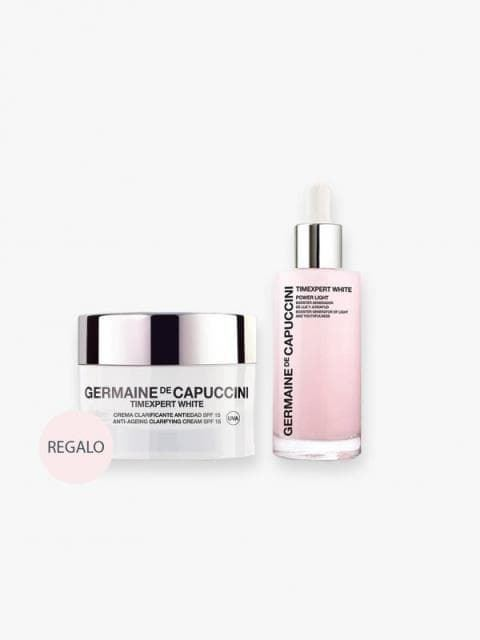 Pack Luminosidad Timexpert White Serum Booster Power Light y Crema Clarificante Antiedad Germaine - Imagen 2