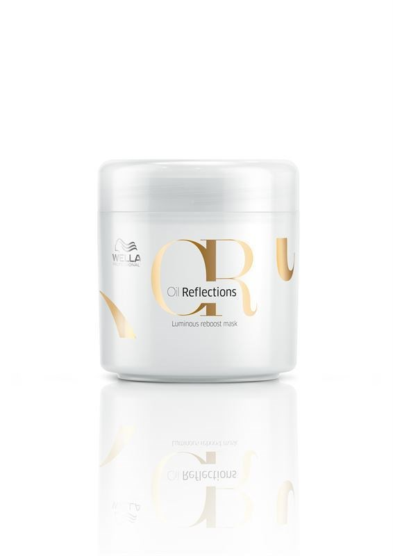 Mascarilla Brillo y Luminosidad Oil Refrexions Mask Wella